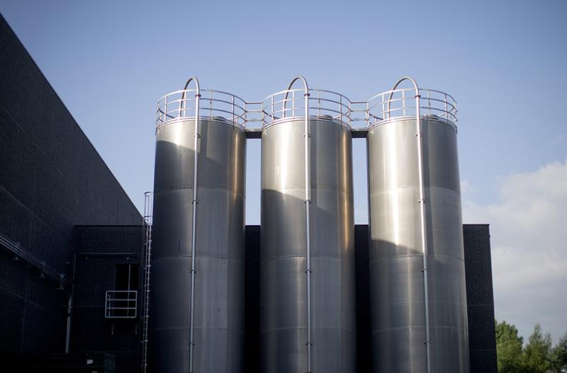 silo frontaal